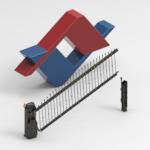 Avantgates Vertical Hydraulic Gates